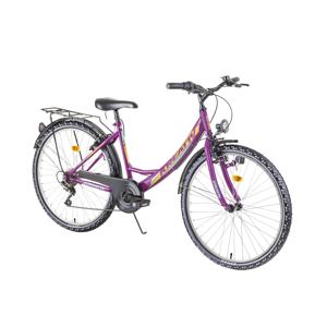 "Mestský bicykel Kreativ 2614 26"" - model 2019 Purple - Záruka 10 rokov"
