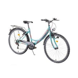 "Mestský bicykel Kreativ 2614 26"" - model 2019 Light Green - Záruka 10 rokov"