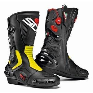 Moto topánky SIDI Vertigo 2 black/yellow fluo - 43