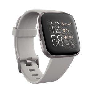 Inteligentné hodinky Fitbit Versa 2 Stone/Mist Grey