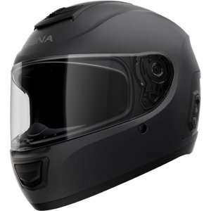 Moto prilba SENA Momentum EVO s integrovaným headsetom matne čierna - M (57-58)