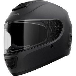 Moto prilba SENA Momentum EVO s integrovaným headsetom matne čierna - L (59-60)