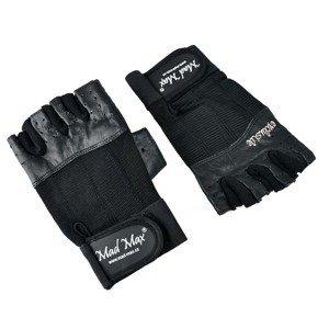 Fitness rukavice Mad Max Clasic Exclusive čierna - S