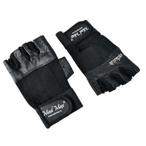 Fitness rukavice Mad Max Clasic Exclusive čierna - XL