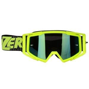 Motokrosové okuliare Lazer Race Mirror Yellow-Black-Yellow
