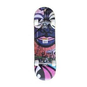 Skateboard Spartan Circle Star Daily Abstract