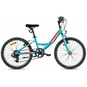 "Detský bicykel Galaxy Kometa 20"" - model 2020 tyrkysová - Záruka 10 rokov"