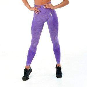 Dámske legíny Boco Wear Violet Melange Push Up fialová - S/M