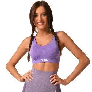Dámsky športový top Boco Wear Violet Melange fialová - M