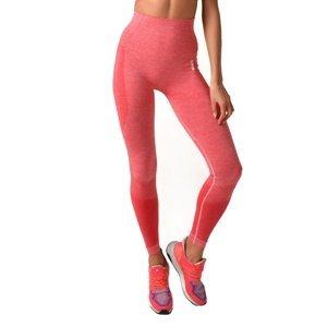 Dámske legíny Boco Wear Raspberry Melange Push Up ružová - XS/S