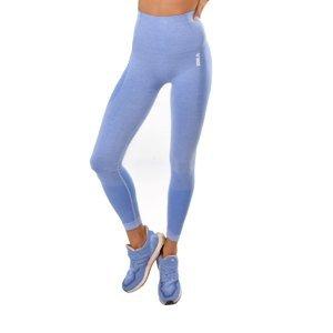 Dámske legíny Boco Wear Blue Melange Push Up modrá - M/L