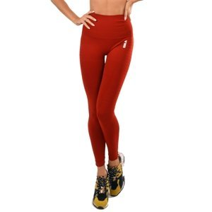 Dámske legíny Boco Wear Red Plain Push Up červená - XS/S
