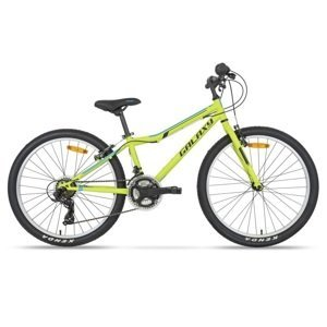 "Juniorský bicykel Galaxy Aries 24"" - model 2020 zelená"