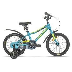 """Detský bicykel Galaxy Sputnik 16"""" - model 2020 modro-žltá - 9"""""""
