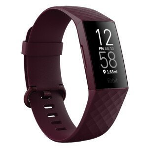 Inteligentný náramok Fitbit Charge 4 Rosewood/Rosewood