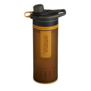 Filtračná fľaša Grayl Geopress Purifier Coyote Amber