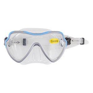 Potápačské okuliare Escubia Apnea Silicon Senior šedo-modrá