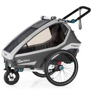 Multifunkčný detský vozík Qeridoo KidGoo 1 2020 Anthracite Grey