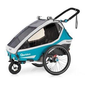 Multifunkčný detský vozík Qeridoo KidGoo 2 2020 Petrol Blue