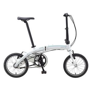 """Skladací bicykel Dahon Curve i3 16"""" - model 2020 biela"""