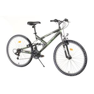"Celoodpružený bicykel Reactor Fox 26""  - model 2020 Green - Záruka 10 rokov"