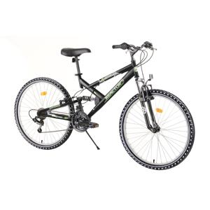 """Celoodpružený bicykel Reactor Fox 26""""  - model 2020 Black - Záruka 10 rokov"""