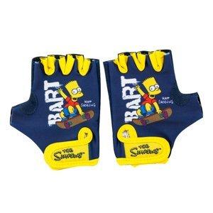 Detské cyklo rukavice Bart Simpson
