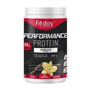 Proteínový nápoj Fit-day Protein Performance 900 g vanilka