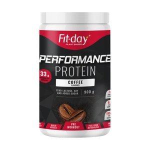 Proteínový nápoj Fit-day Protein Performance 900 g káva