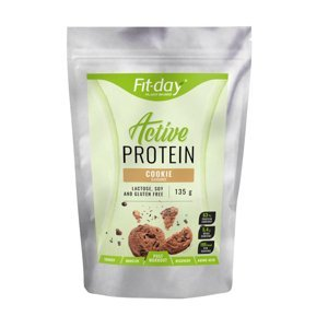 Proteínový nápoj Fit-day Protein Active 135 g cookie