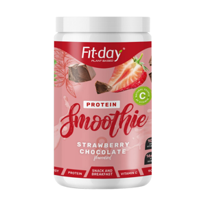 Proteínový nápoj Fit-day Protein Smoothie 900 g jahody v čokoláde