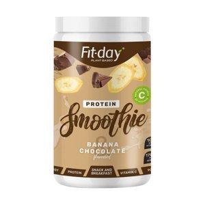 Proteínový nápoj Fit-day Protein Smoothie 900 g banán v čokoláde