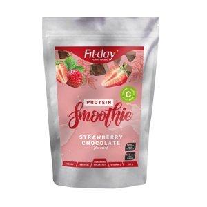 Proteínový nápoj Fit-day Protein Smoothie 135 g jahody v čokoláde