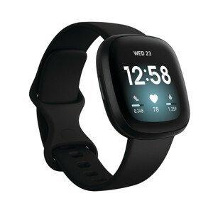 Inteligentné hodinky Fitbit Versa 3 Black/Black Aluminum