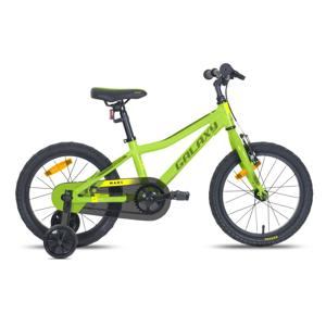 """Detský bicykel Galaxy Mars 16"""" - model 2021 zelená"""