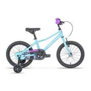 """Detský bicykel Galaxy Mira 16"""" - model 2021 tyrkysová"""