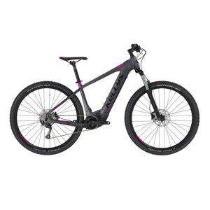 """Dámsky horský elektrobicykel KELLYS TAYEN 10 29"""" - model 2021 Grey - L (19,5"""") - Záruka 10 rokov"""