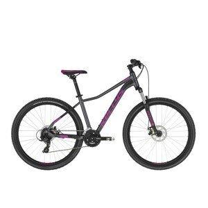"Dámsky horský bicykel KELLYS VANITY 30 26"" - model 2021 Grey - XS (13,5"") - Záruka 10 rokov"