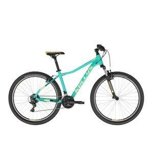 "Dámsky horský bicykel KELLYS VANITY 10 26"" - model 2021 Aqua Green - XS (13,5"") - Záruka 10 rokov"