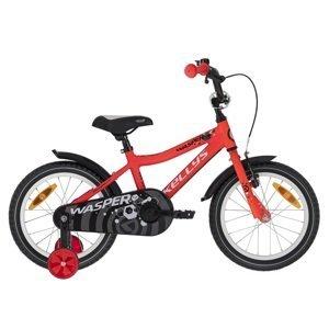 """Detský bicykel KELLYS WASPER 16"""" - model 2021 Red - Záruka 10 rokov"""