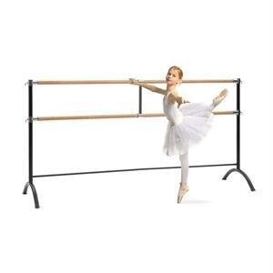 Dvojitá baletná tyč KLARFIT Barre Marie 220 x 113 cm