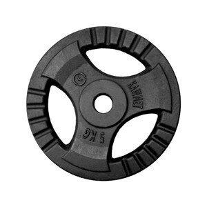 Liatinový kotúč KAWMET Tri-Grip 5 kg