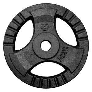 Liatinový kotúč KAWMET Tri-Grip 20 kg