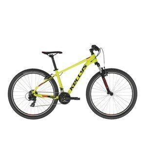 "Horský bicykel KELLYS SPIDER 10 26"" - model 2021 Neon Yellow - XXS - Záruka 10 rokov"