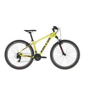 "Horský bicykel KELLYS SPIDER 10 26"" - model 2021 Neon Yellow - XS (15"") - Záruka 10 rokov"