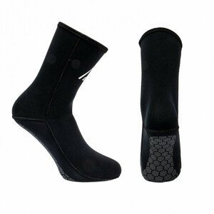 Neoprénové ponožky Agama Sigma 5 mm čierna - 38/39