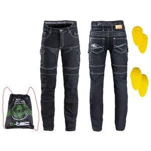 Pánske moto jeansy W-TEC Aredator EVO čierna - 38