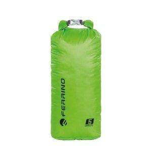 Ultraľahký vodotesný vak Ferrino Drylite 5l zelená