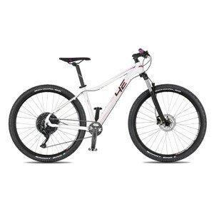 """Juniorský horský bicykel 4EVER Nelly Sport 27,5"""" - model 2021 biela/ružová - 15,5"""" - Záruka 10 rokov"""