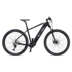 """Horský elektrobicykel 4EVER Esword Team 29"""" - model 2021 čierna/metal strieborná - 17"""" - Záruka 10 rokov"""